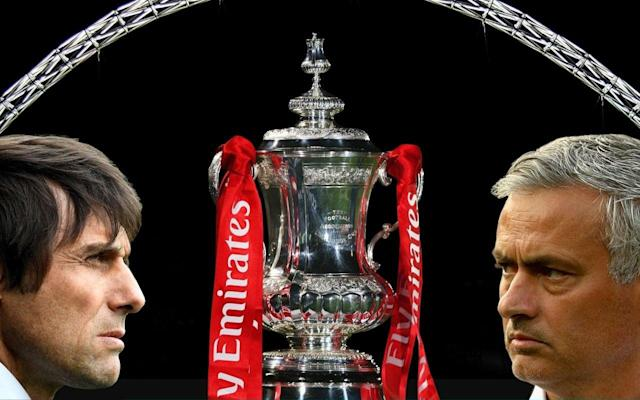 "What is it? It is the 2018 FA Cup final at Wembley, the 12th at the new stadium. Manchester United will take on Chelsea, who are looking to complete an FA Cup double after their women's team beat Arsenal. When is it? It is this weekend. Saturday May 19, the same day as the Royal Wedding. What time is kick-off? Kick-off is scheduled for 5:15pm, a slightly earlier start time than last year's final between Chelsea and Arsenal, which kicked-off at 5.30pm. What TV channel is it on? BT Sport and BBC have shared FA Cup coverage this season, and you will be able to watch the final via both broadcasters. Alternatively, you can follow all the build up and live action with our Telegraph Sport live blog. FA Cup final 2018 | How long until it begins? Does it clash with the Royal Wedding? Though the two events are on the same day, there will be no clash between the ceremony at Windsor Castle and the final at Wembley. Prince Harry and Meghan Markle are due to be married in at noon, with the Cup final kicking-off later in the afternoon. So football-loving royalists can have their cake and eat it. Prince William, the Duke of Cambridge, usually attends the final and presents the cup to the winning captain in his role as Football Association president, but will not be this year. Revealed: The inside story of how Antonio Conte's reign at Chelsea turned sour Is the video assistant referee system in use? Yes. For the first time ever in the final of football's oldest cup competition VAR will be utilised and promises to be one of the day's most contentious talking points. Had the system been in place last year, Alexis Sanchez's opening goal for Arsenal would likely have been ruled out for handball. Is it the final game of the season? Aside from Liverpool, who feature in the Champions League final a week later, it will be the last time we see Premier League teams in action in the 2017-18 season. There are Football League play-off finals at Wembley the following weekend and then a little tournament called the World Cup. Try our predictor below! World Cup predictor What happens if the game is a draw? The days of multiple replays in the final are long gone. If the match finishes as a draw after 90 minutes, there will be 30 minutes of regular extra-time followed by penalties if the scores still level. Is there a place in Europe at stake? Winning the FA Cup does guarantee a place in the Europa League group stages, but rules state if the winner already has a place in European competition via league position then the seventh placed team in the Premier League will qualify instead. With Manchester United and Chelsea both already guaranteed European football, seventh-placed Burnley are now guaranteed a place in next season's Europa League. Team news Chelsea Goalkeeper Thibaut Courtois could play in the FA Cup for the first time this season when Chelsea play Manchester United in Saturday's final. Willy Caballero has featured in the competition this term, but did not convince when deputising when Courtois missed the Premier League draw with Huddersfield with a back injury. Full-back Emerson Palmieri (undisclosed) has joined defenders David Luiz (knee) and Ethan Ampadu (ankle) in being ruled out injured. Provisional squad: Courtois, Caballero, Rudiger, Alonso, Fabregas, Drinkwater, Kante, Barkley, Morata, Hazard, Pedro, Bakayoko, Moses, Giroud, Zappacosta, Willian, Cahill, Christensen, Azpilicueta, Eduardo. Pick your Chelsea team to play Man Utd Manchester United Manchester United striker Romelu Lukaku needs a late fitness test ahead of the FA Cup final against Chelsea. The Belgium international faces a race against time to recover from an ankle injury in order to line up against his former club. Winger Anthony Martial is fit after shaking off a knee problem. Provisional squad: De Gea, Romero, Valencia, Darmian, Shaw, Young, Lindelof, Smalling, Jones, Rojo, Bailly, Matic, Pogba, McTominay, Fellaini, Herrera, Mata, Lingard, Martial, Sanchez, Rashford, Lukaku. Pick your Manchester United team to play Chelsea What are they saying? Chelsea manager Antonio Conte admits his future at the club will become clearer after the FA Cup final. ""It is very difficult to comment on speculation because there has been speculation around me from the start of the season, after the first game against Burnley. ""This speculation is not important to me because my focus is only to do my work in the best possible way with my players. I am doing this from the start until the end. ""There are only two weeks and this season will finish, and you will know if there is a different situation or if you see me again next season. ""In this decision there are always two parties to take the decision, not only one side. I like to work with my players to build something important but in our job the final result is very important."" Manchester United manager Jose Mourinho remains uncertain on whether striker Romelu Lukaku will be fit to take part in the Wembley showpiece. Lukaku picked up a knock after colliding with Arsenal defender Konstantinos Mavropanos. ""I don't think it's something, or I hope it's not, that in this moment keeps him immediately out of a game that is in a few weeks' time. ""But I don't know. I never, when I finish a game and a player is injured, immediately go for good or bad news. I wait a bit more. ""I don't know if he is going to be out, or if he's not okay. He wants to play all the time. He is never tired and, when he has small things, he doesn't care. He still wants to play."" What are the latest odds? Chelsea 19/10 Manchester United 8/5 What is our prediction? Speculation over Antonio Conte's future - and Chelsea's recent performances - will help Manchester United, whose manager Jose Mourinho has an impressive cup final record. Prediction: Manchester United 2 Chelsea 0"