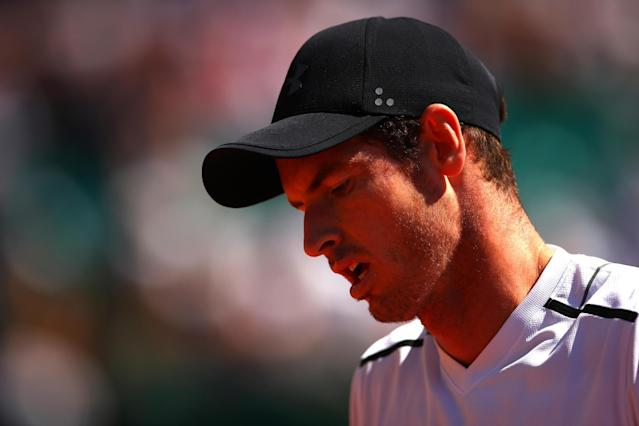 Defeat | Andy Murray lost his third-round match with Albert Ramos-Vinolas: Getty Images