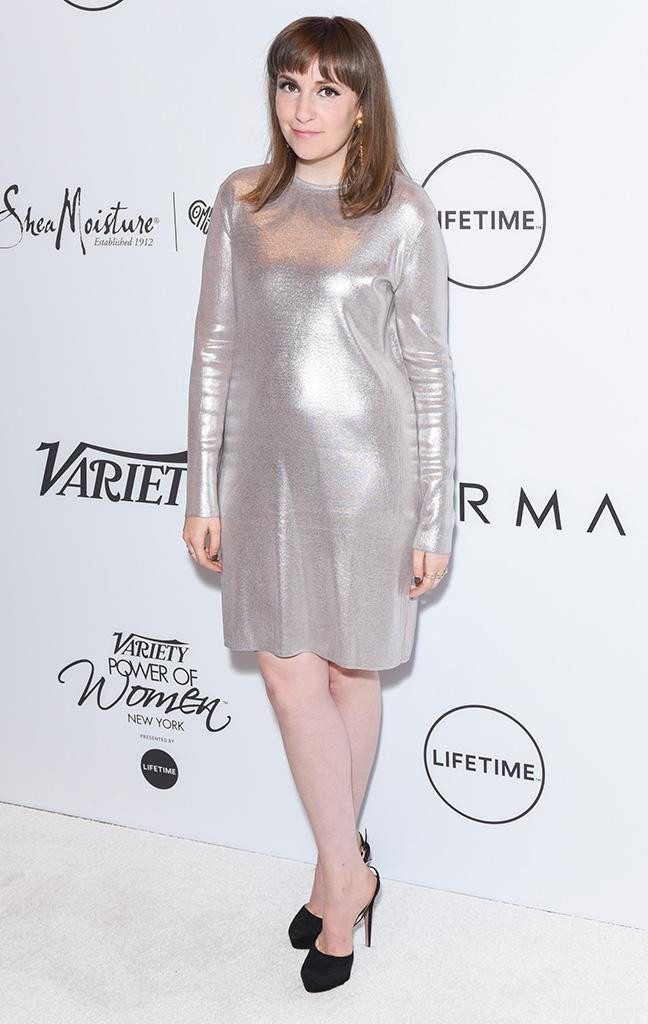 Lena Dunham attends Variety's Power of Women: New York at Cipriani Midtown.