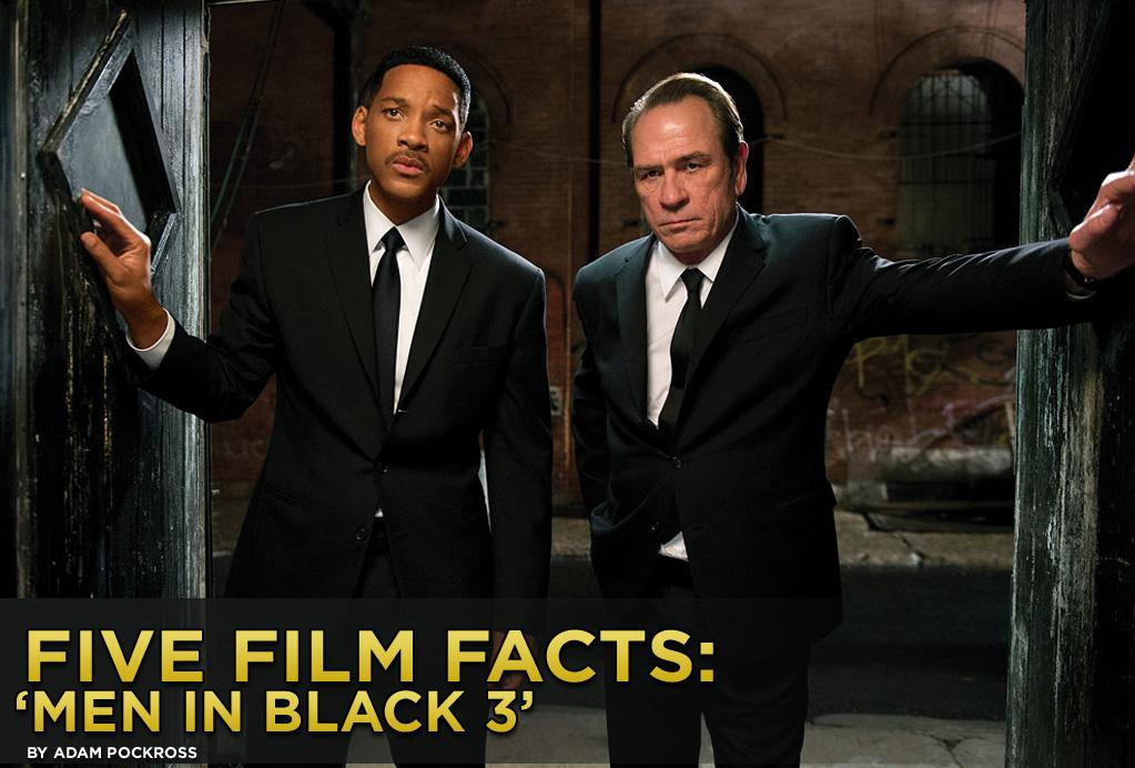 """Ten years after the first sequel, Will Smith and Tommy Lee Jones get back to the business of busting alien bad guys when """"<a href=""""http://movies.yahoo.com/2012-summer-movies/men-black-3-205329125.html"""">Men in Black 3</a>"""" opens wide this weekend. While there may be plenty of familiar territory covered, there are a number of changes to keep the action and comedy as fresh as ever. Not the least of which, for the first time, Agents J and K will come to life in dazzling 3D. The film also happens to be Smith's first in 3D, which has the actor more than a little <a href=""""http://www.bbc.co.uk/news/entertainment-arts-18142827"""">worried</a> about how big his ears will look. We all know Smith will look just fine, but here are five fun facts about the film you might want to know.<br>"""