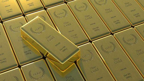 PHOTO: Gold bars are pictured in this undated stock photo. (STOCK PHOTO/Getty Images)