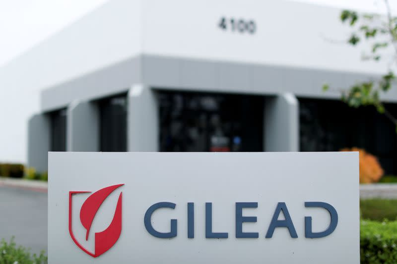 Gilead seeks U.S. approval for COVID-19 treatment remdesivir