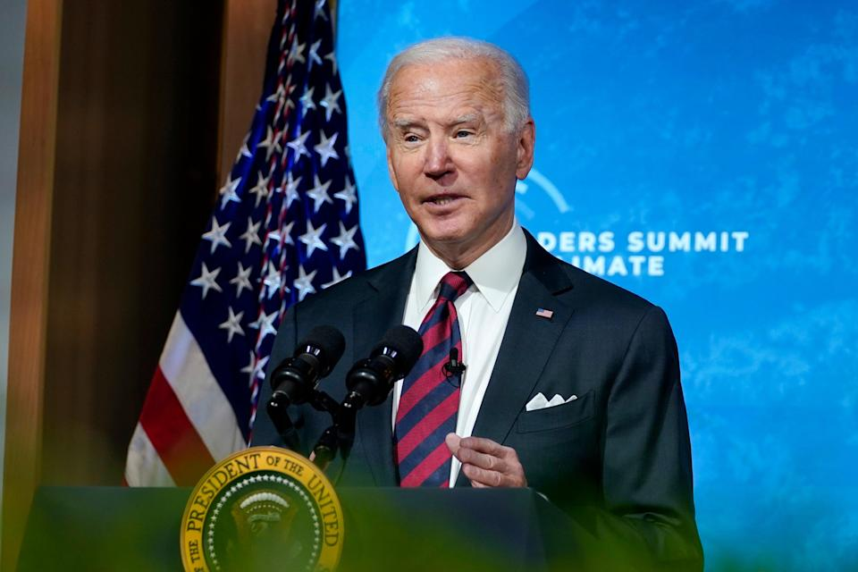 Biden addresses Climate Summit (AP)