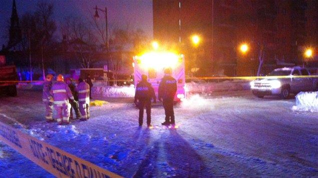 A woman struck by a snow-removal truck has died in Lévis, Que.