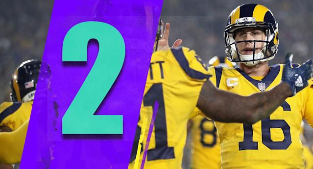 <p>The Rams could have clinched the division in November had the Panthers beat the Seahawks on Sunday. That's coming soon of course, but it helps to show how dominant the Rams have been. (Jared Goff) </p>