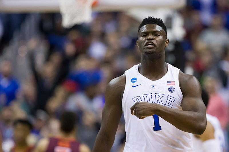 Duke's Zion Williamson could receive shoe deal worth $10 million per year