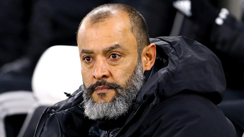 Nuno wants stuttering Wolves 'to raise standards'