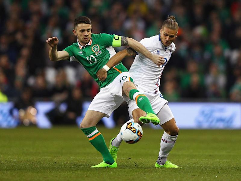 Robbie Brady failed to sparkle in a green shirt (Getty)