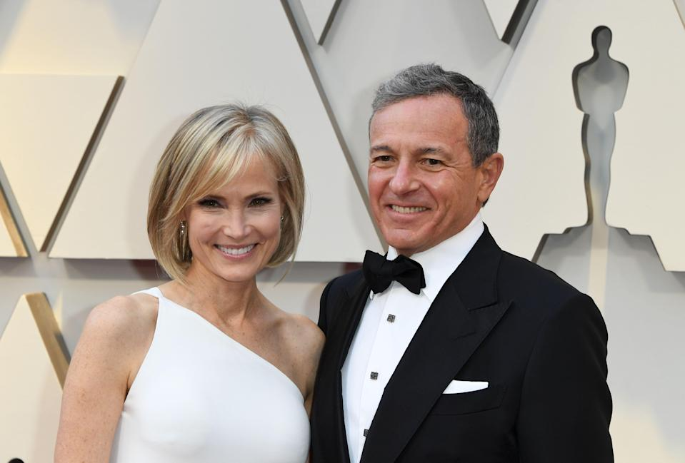 Walt Disney Company CEO Robert Iger and wife journalist Willow Bay arrive for the 91st Annual Academy Awards at the Dolby Theatre in Hollywood, California on February 24, 2019. (Photo: MARK RALSTON/AFP/Getty Images)