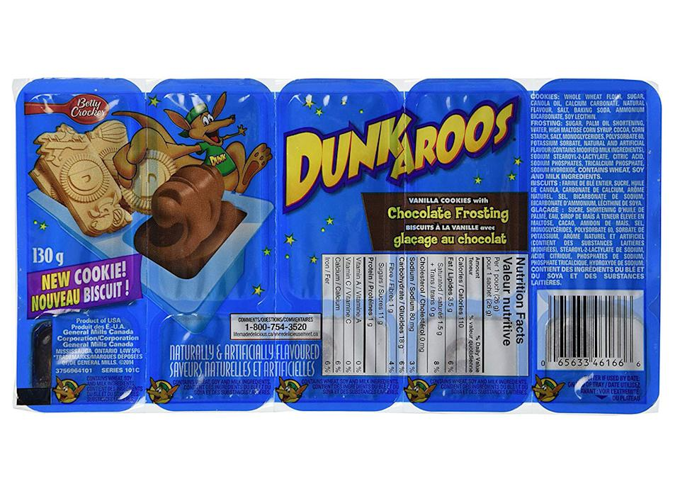 dunkaroos snack packs