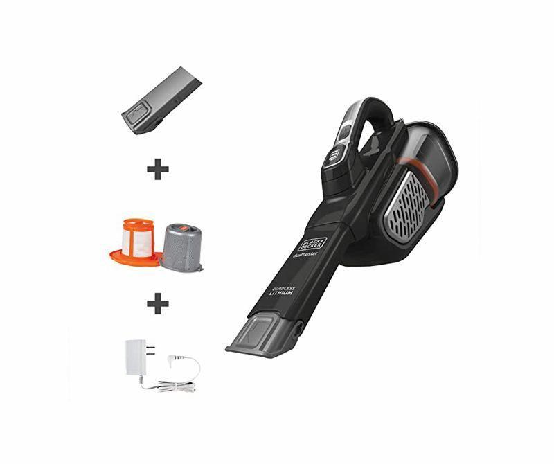 """<p><strong>BLACK+DECKER</strong></p><p>amazon.com</p><p><strong>$79.99</strong></p><p><a href=""""https://www.amazon.com/dp/B07T17TDLR?tag=syn-yahoo-20&ascsubtag=%5Bartid%7C10060.g.18672103%5Bsrc%7Cyahoo-us"""" rel=""""nofollow noopener"""" target=""""_blank"""" data-ylk=""""slk:Shop Now"""" class=""""link rapid-noclick-resp"""">Shop Now</a></p><p><strong>Consumer Score: </strong>86% give it 4 stars or higher </p><p>At under three pounds, this 20-volt battery-powered Dustbuster provided plenty of power <a href=""""https://www.popularmechanics.com/home/tools/a30715284/best-handheld-vacuums/"""" rel=""""nofollow noopener"""" target=""""_blank"""" data-ylk=""""slk:in our testing"""" class=""""link rapid-noclick-resp"""">in our testing</a> to suck up dust and debris for your home, workshop, and car. We especially like that it has a nozzle that extends an extra 7.5 inches for greater reach. Plus, it's easy to empty and has both high and low settings.</p>"""