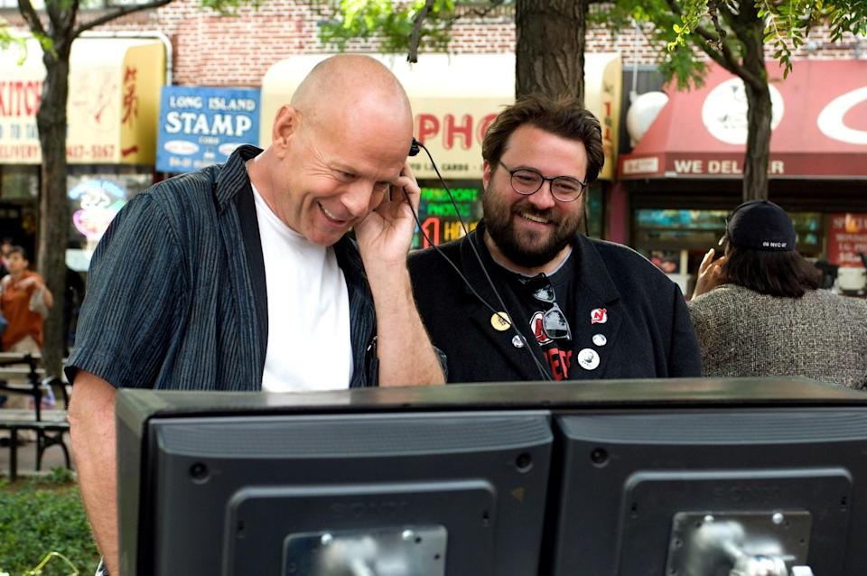 Bruce Willis starred and Kevin Smith directed