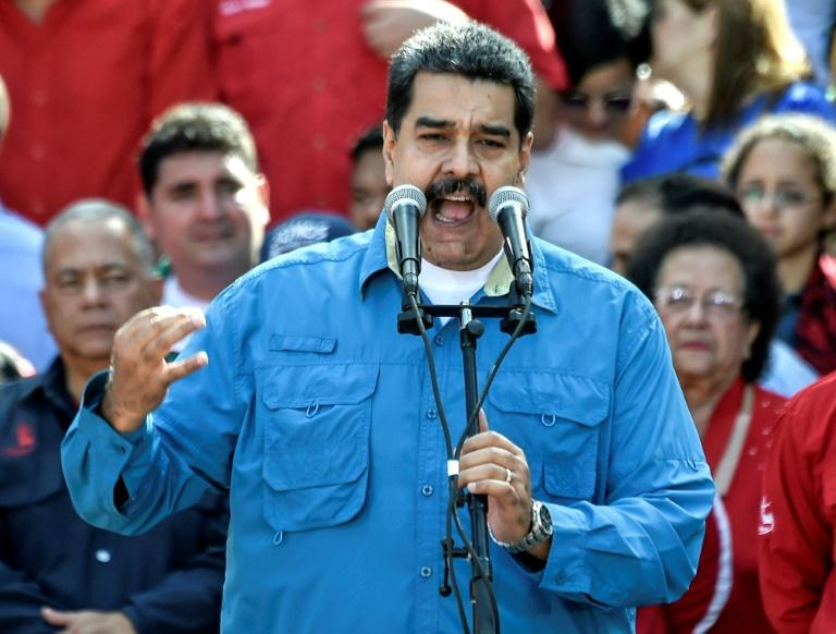 Maduro named as Venezuela's socialist party candidate