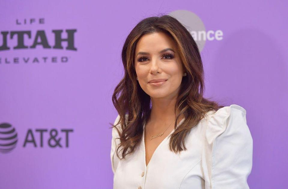 """<p>Born to Mexican-American parents, Eva dedicated herself to <a href=""""https://www.biography.com/actor/eva-longoria"""" rel=""""nofollow noopener"""" target=""""_blank"""" data-ylk=""""slk:earning a Bachelor of Science degree in Kinesiology"""" class=""""link rapid-noclick-resp"""">earning a Bachelor of Science degree in Kinesiology</a> before pursing an acting career. She made her debut in <em>The Bold and the Beautiful</em> followed by <em>General Hospital</em>, <em>The Young and the Restless</em>, and <em><a href=""""https://www.amazon.com/Desperate-Housewives-Season-1/dp/B003TH5L7S?tag=syn-yahoo-20&ascsubtag=%5Bartid%7C10055.g.33835500%5Bsrc%7Cyahoo-us"""" rel=""""nofollow noopener"""" target=""""_blank"""" data-ylk=""""slk:Desperate Housewives"""" class=""""link rapid-noclick-resp"""">Desperate Housewives</a></em>. Since then, Eva has expanded her talents to also be a director, producer, philanthropist, and activist.</p>"""