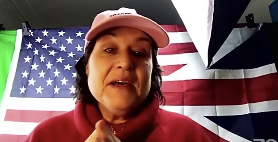 Amy Dalla Mura, accused of harassing Anna Soubry, will stand against her for Broxtowe in the general election. (Youtube/Based Amy)