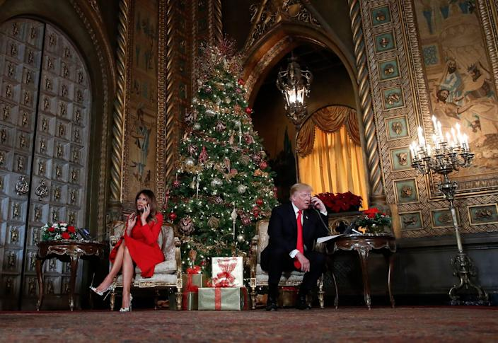 trump melania library mar a lago