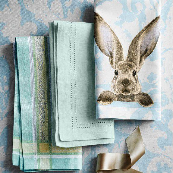 """<p><strong>Williams Sonoma</strong></p><p>williams-sonoma.com</p><p><strong>$129.95</strong></p><p><a href=""""https://www.williams-sonoma.com/products/bunny-damask-tablecloth"""" target=""""_blank"""">SHOP NOW</a></p><p>Your <a href=""""https://www.womansday.com/home/decorating/g1100/easter-brunch/"""" target=""""_blank"""">dinner table</a> isn't complete without this adorable table cloth to put under the delicious holiday feast.</p>"""