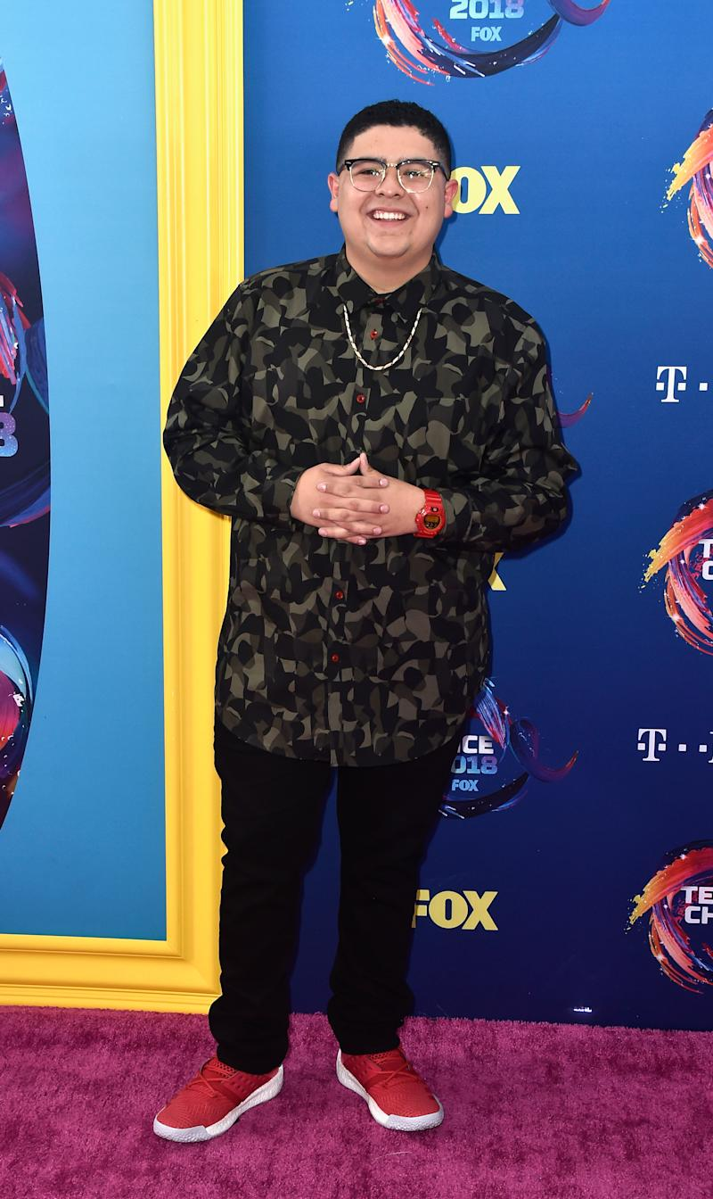 """""""Modern Family"""" star Rico Rodriguez. Image via Getty Images."""