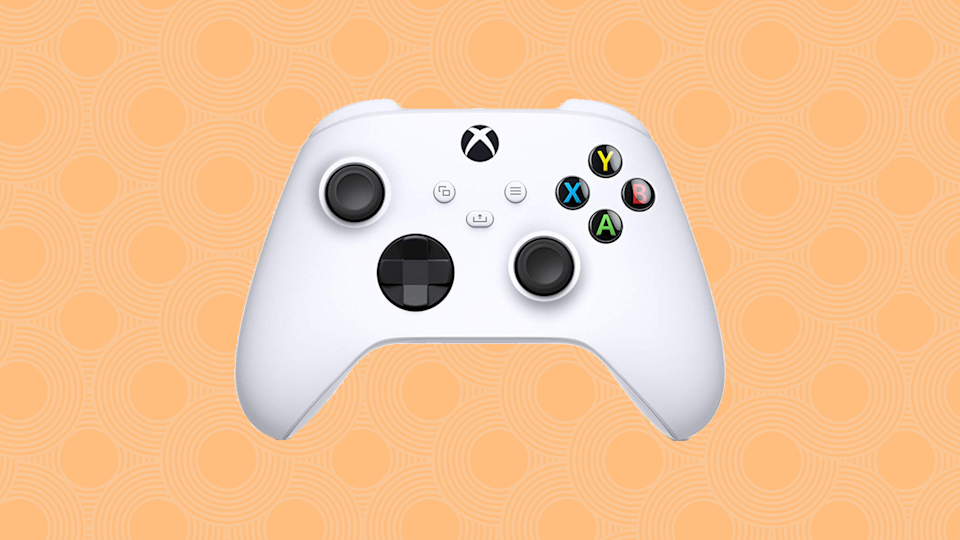 Save nearly 20 percent on this Xbox Core Controller in Robot White. (Photo: Amazon)