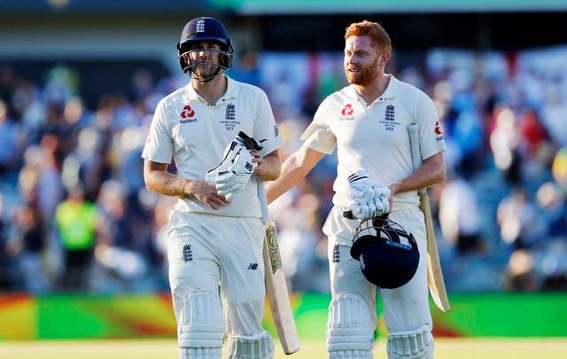 Dawid Malan, left, and Jonny Bairstow are expected to be available for England's first Twenty20 against Sri Lanka (Jason O'Brien/PA)
