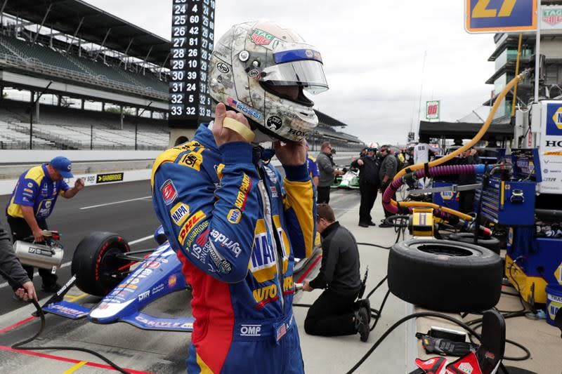 Pagenaud continues building momentum in Indy 500 practice