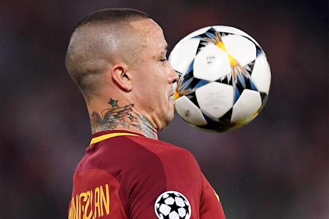Radja Nainggolan ended his international career on Monday after Belgium coach Roberto Martinez left the AS Roma midfielder out of his squad for next month's World Cup in Russia.