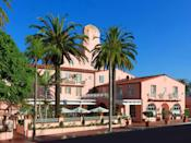 """<p><strong>How did it strike you on arrival?</strong><br> You can't miss it—just look for the iconic pink stucco exterior of this Mediterranean-style hotel that sits on a cliff above La Jolla Cove. Dubbed """"the pink Lady,"""" the boutique hotel is a bit of Old Hollywood mixed with Alhambra mixed with the French Riviera—think, dark wood, Spanish-style roof tiles, and oil paintings.</p> <p><strong>What's the crowd like?</strong><br> Back in the day, it drew big names like Gregory Peck, Ginger Rogers, and Raymond Chandler. Today, there's a mix of families, couples, and singles of all ages.</p> <p><strong>Now, the most important part: Tell us about the rooms.</strong><br> Rooms are divided into Vintage, Villa, Classic, and Icon categories, ranging from a tight 250 square feet to 1,000-square-foot suites. Depending on your taste you'll either find the decor dated or quaint Old World, with heavy drapes, beige textiles, and satin finishes (though the suites are more modern).</p> <p><strong>We're craving some deep, restorative sleep. They got us?</strong><br> Beds and linens feel luxurious.</p> <p><strong>How about the little things, like mini bar, or shower goodies. Any of that worth a mention?</strong><br> The mini-bar is stocked with nuts, dried fruit, granola bars, sparkling water, and wine, priced about as you'd expect from $5 mints to $55 Piper–Heidsieck Champagne. A $30 resort fee covers in-room coffee and tea, Wi-Fi, daily newspaper delivery, and a beach tote, among other amenities.</p> <p><strong>Please tell us the bathroom won't let us down.</strong><br> Bathrooms in lower tier rooms are tiny, but those in the villas and suites have tubs and dual sinks.</p> <p><strong>Room service: What can we get here?</strong><br> Room service is a touch fancy here. Breakfast includes an açaí bowl ($16) and lobster Benedict ($22), and for lunch and dinner, there are plates like Dungeness crab cakes with chili aioli ($18). There's also a kids' menu with simpler entrées, like chicken """