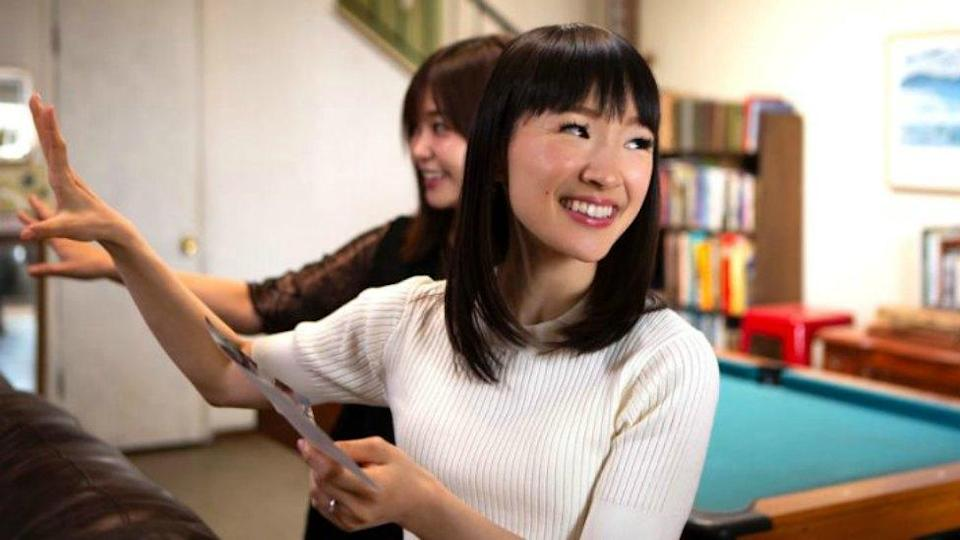Marie Kondo is changing lives thanks to her popular show, Tidying Up With Marie Kondo. Photo: Netflix