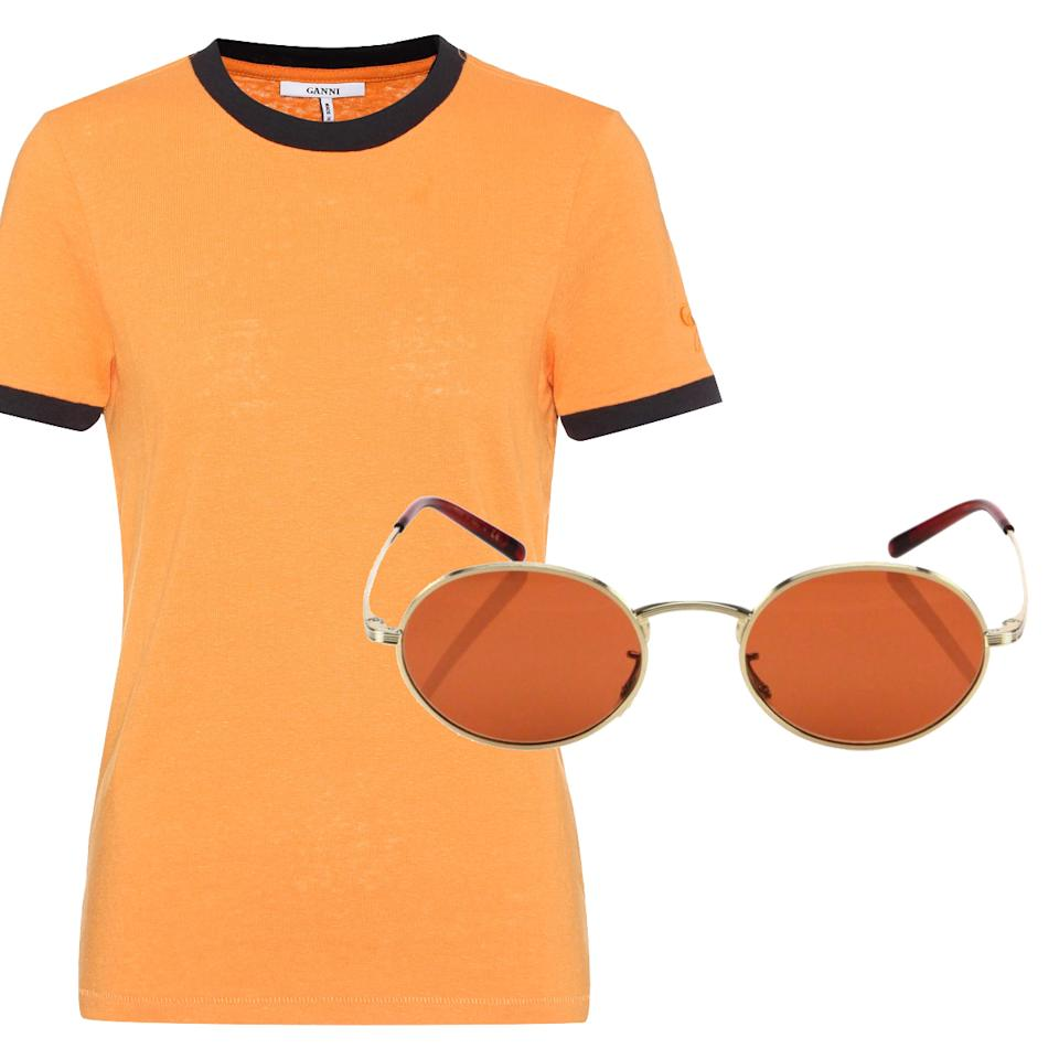 8 Matching T-Shirt And Sunglasses Combos That Will Help