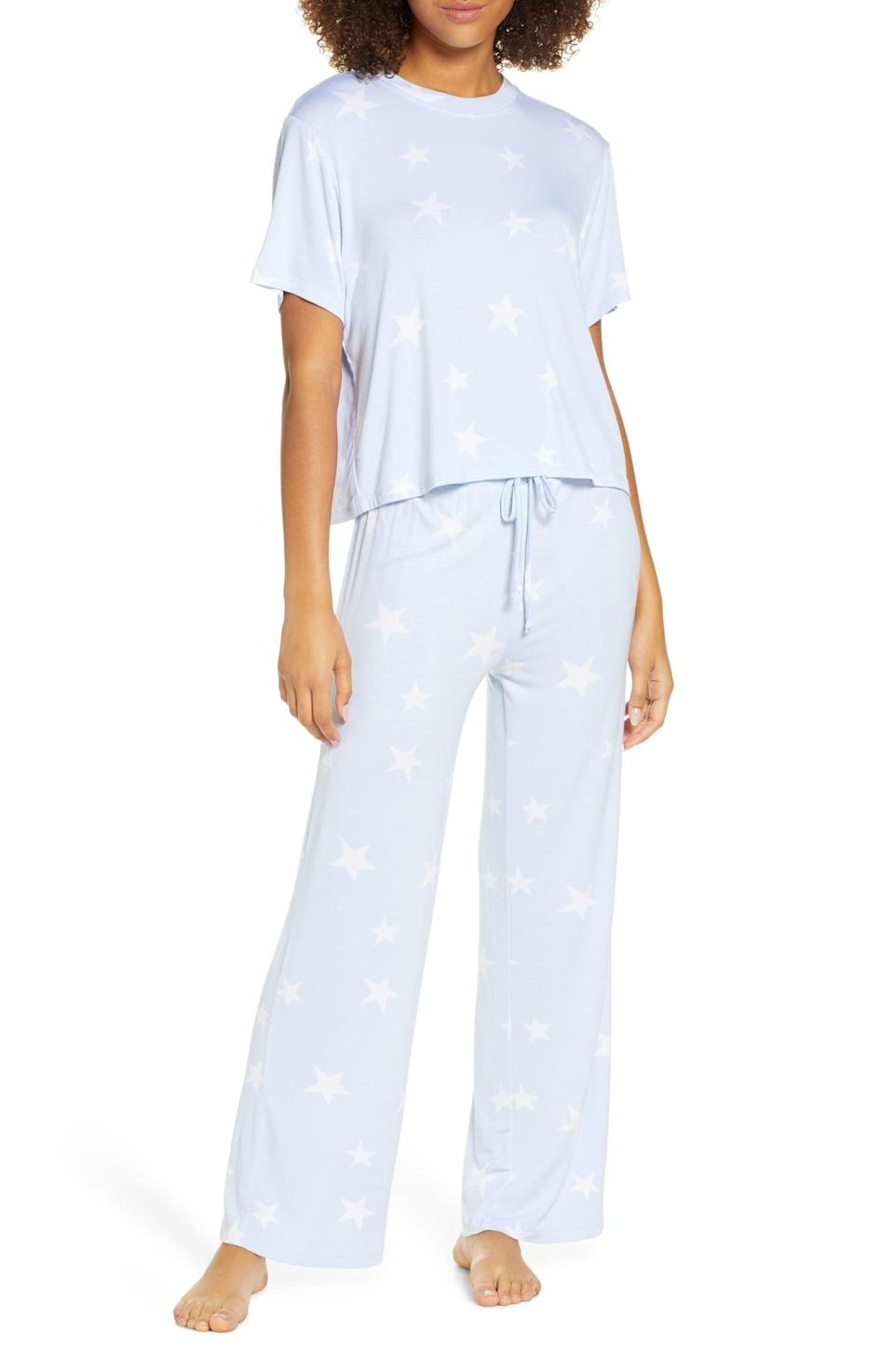 <p>These <span>Honeydew Intimates All American Pajamas </span> ($48) are so cute and cozy.</p>