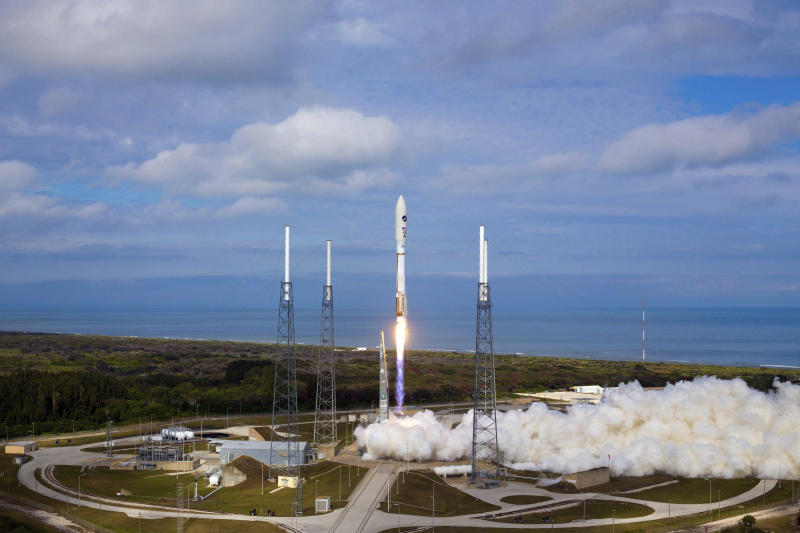 Launch of Atlas V OTV3 from Cape Canaveral AFS, FL. December 11, 2012 (Photo by DoD/Corbis via Getty Images)