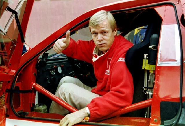 FILE PHOTO: Born on April 27, 1952: Ari Vatanen, Finnish rally driver and MEP