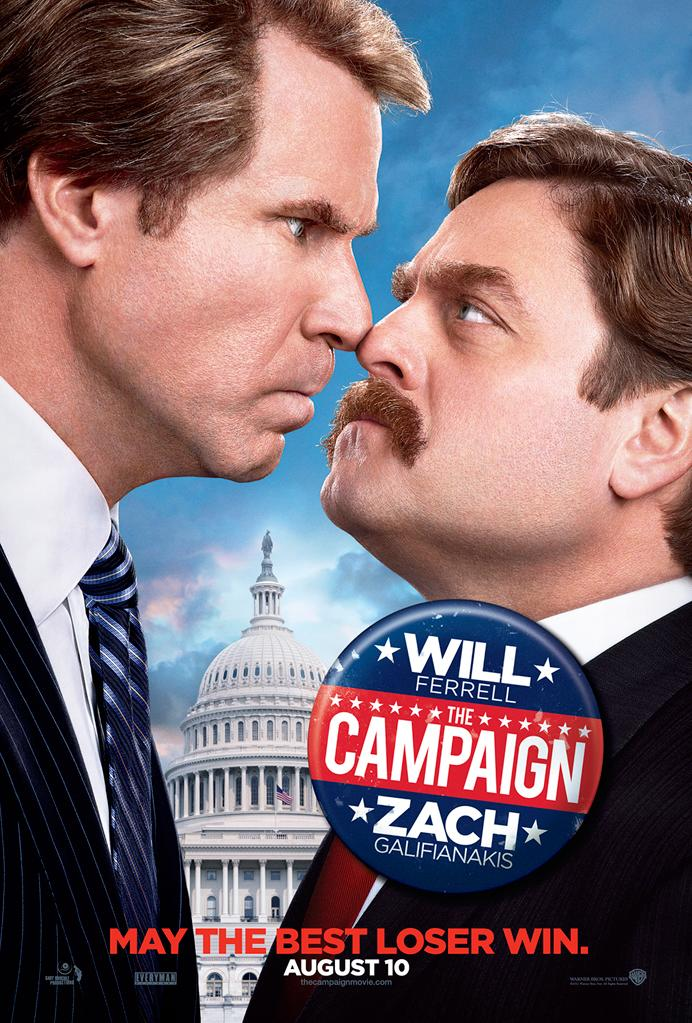 """Zach Galifinakis and Will Ferrell in Warner Bros. Pictures' """"The Campaign"""" - 2012"""