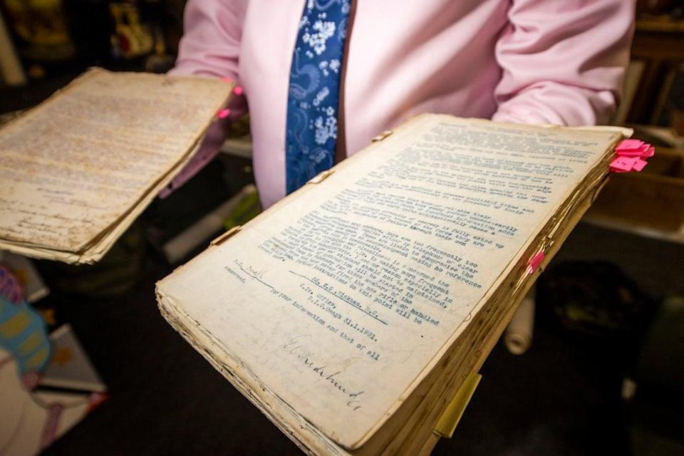The century-old artefacts related to the Irish republican leader are among a series of historical lots going under the hammer (Liam McBurney/PA)