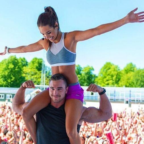 Kayla and her boyfriend Tobi are business partners as well. Photo: Instagram/kayla_itsines
