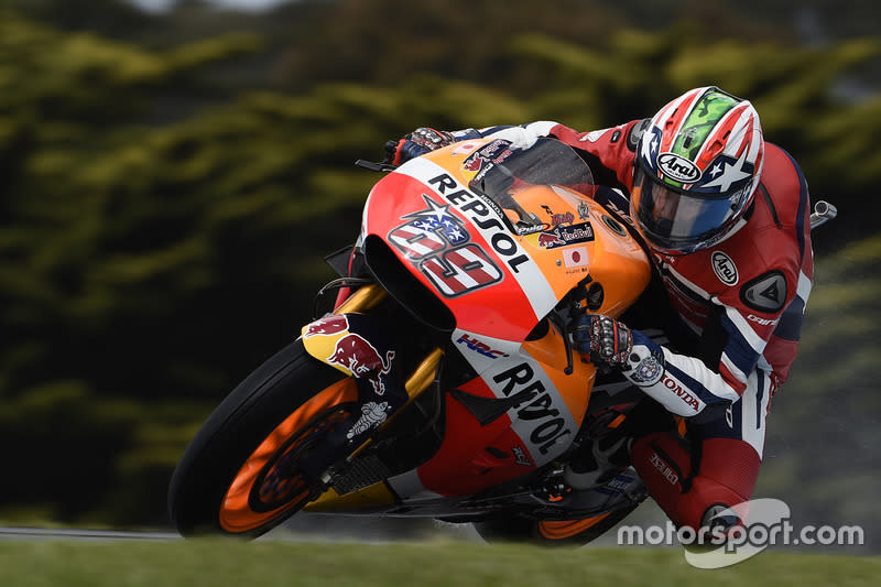 """2016. Nicky Hayden*<span class=""""copyright"""">Gold and Goose / Motorsport Images</span>"""