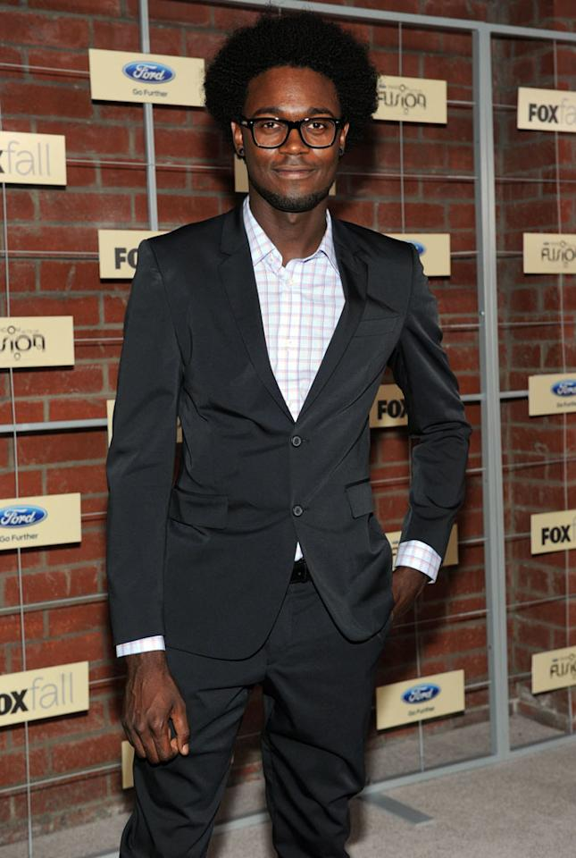"Echo Kellum (""Ben and Kate"") attends Fox's Fall 2012 Eco-Casino party at The Bookbindery on September 10, 2012 in Culver City, California."