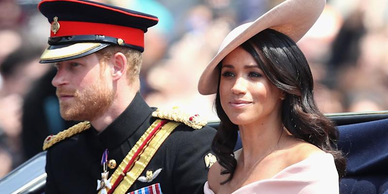 Prince Harry said 'give Trump a chance,' according to Meghan Markle's father