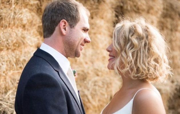 Becky was tragically diagnosed less than a year after marrying Luca. Photo: www.justgiving.com