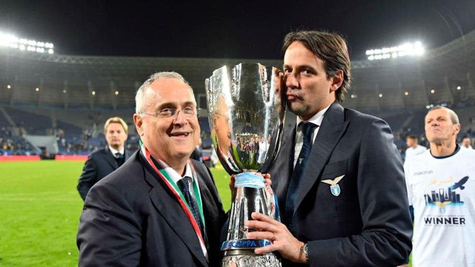 Inzaghi e Lotito   Marco Rosi/Getty Images