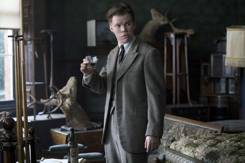 """This image released by Focus Features shows Will Poulter in a scene from """"The Little Stranger."""" (Nicola Dove/Focus Features via AP)"""