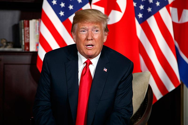"""Trump Hails """"Exciting"""" Agreements by North Korea's Kim"""