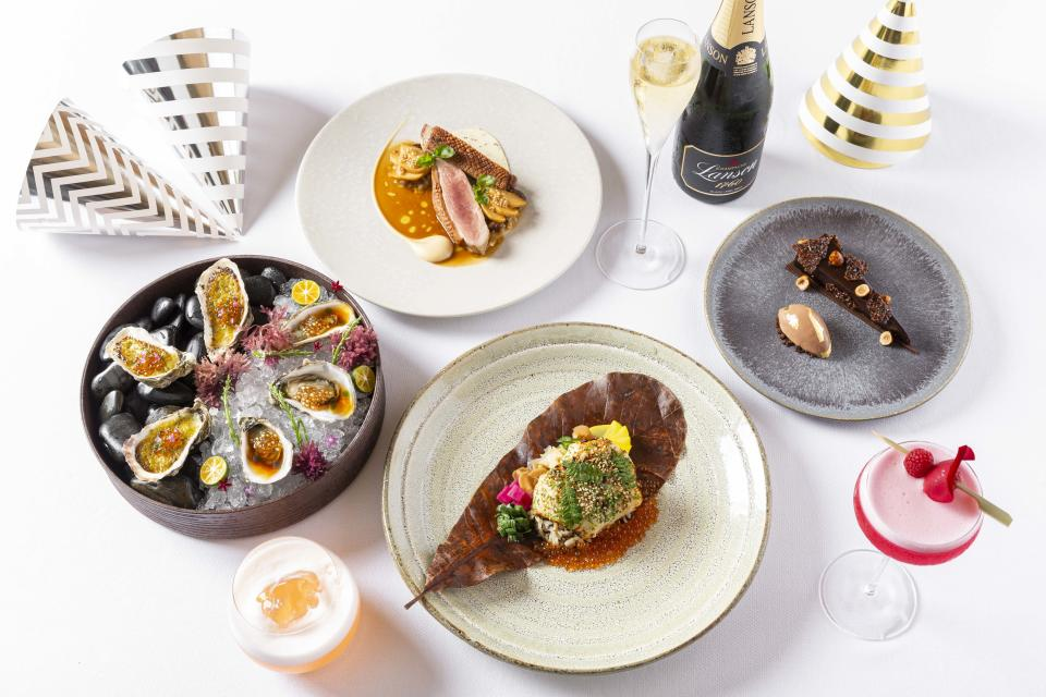 Spago's NYE menu. (PHOTO: Marina Bay Sands)