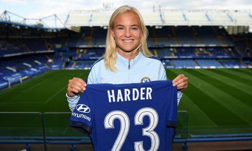 Chelsea Women sign Pernille Harder from Wolfsburg for world record fee