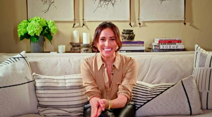 <p>Meghan Markle made a sweet appearance on America's Got Talent via Zoom, with a video message for contestant Archie Williams – who previously spent 37 years in prison for a crime he did not commit and was only freed in March 2019 – cheering him on and telling him 'she had been so moved by his story.'</p><p>As well as showing off her caring, humanitarian side, the Duchess also showcased a brand new hair colour for autumn.</p><p>Known for her long, black hair (which she's recently worn in mermaid waves for Zoom calls), Meghan obviously decided a change was in order and added some copper highlights, which frame her face perfectly.</p>