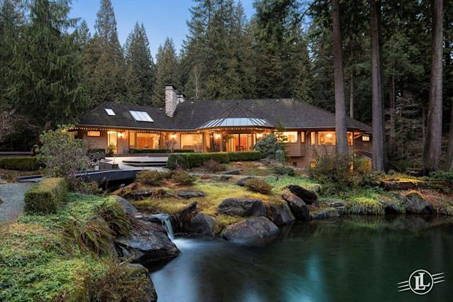<p>No. 10: <span>2250 Indian River Crescent, North Vancouver, B.C.</span><br> List price: $25,000,000<br> This custom-built 8,500-square-foot mansion appeared in a tie at No. 6 on our spring roundup of most expensive homes in Canada. It offers all the joy of living nestles in a forest: massive picture windows offer views of the surrounding trees while rich wood features throughout the home help to bring the outside in. (Photo: Lionel Lorence) </p>