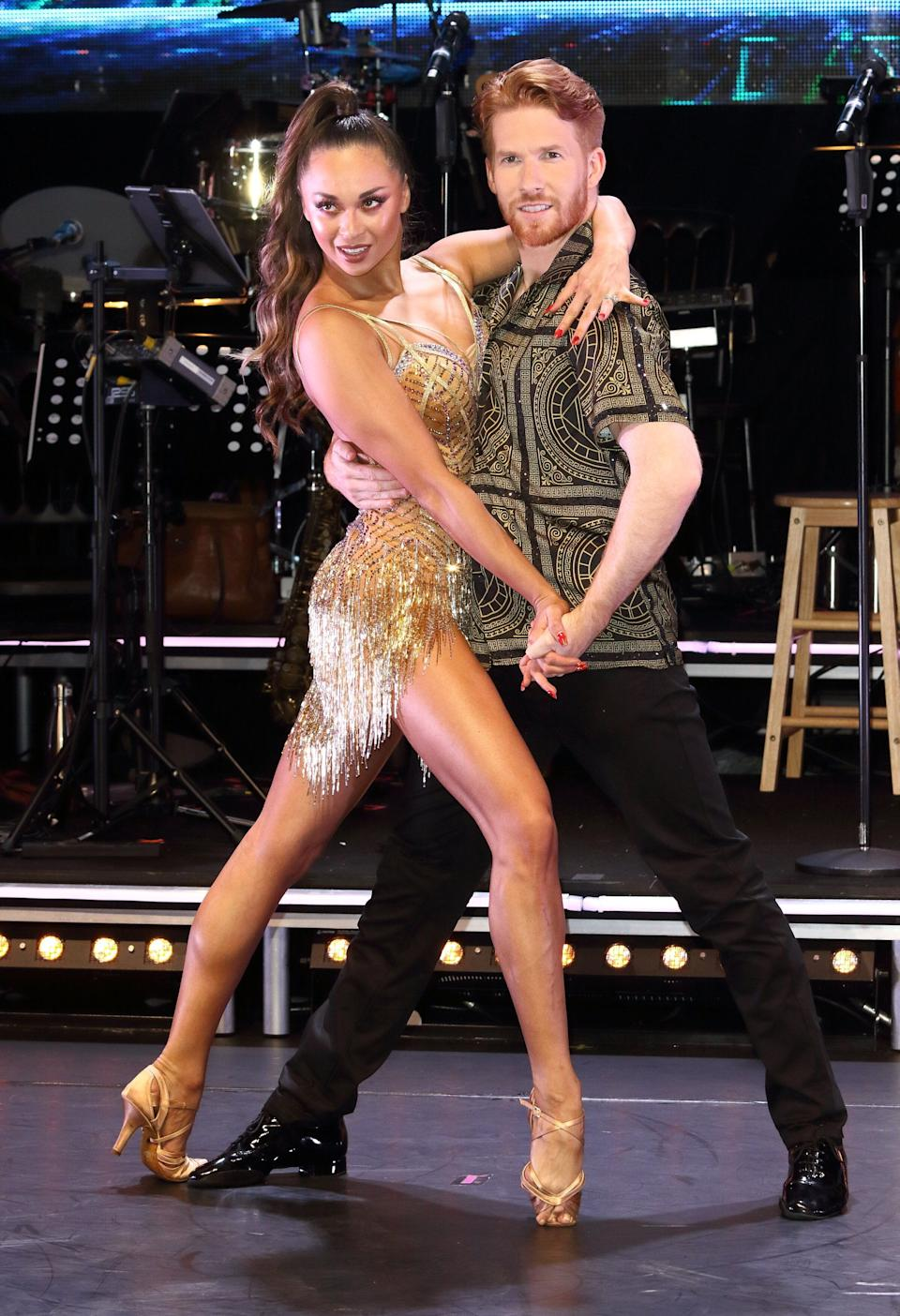 Katya and Neil on this year's Strictly professionals tour (Photo: SOPA Images via Getty Images)