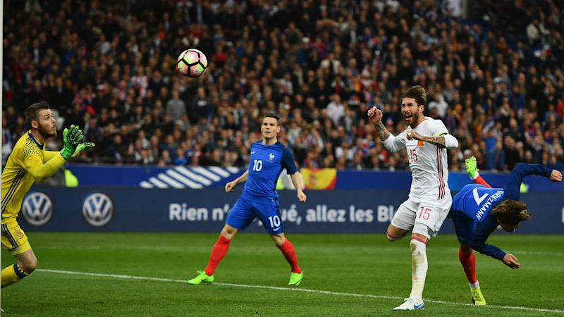 Antoine Griezmann France Spain Friendly 28032017