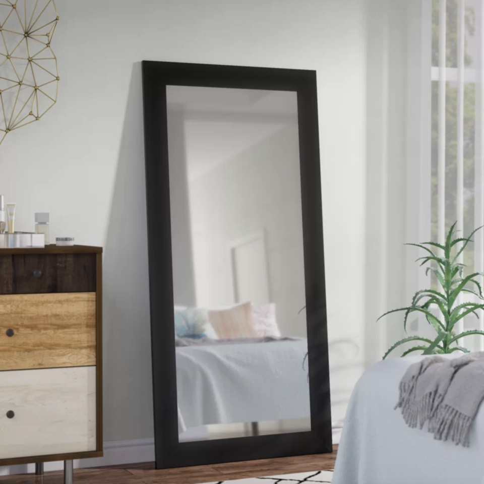 Make any space look larger with this gorgeous oversized mirror. (Photo: Wayfair)