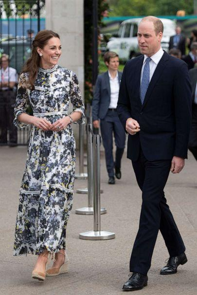PHOTO: Catherine, Duchess of Cambridge and Prince William at the RHS Chelsea Flower Show 2019 press day at Chelsea Flower Show, May 20, 2019, in London. (Geoff Pugh/Getty Images)